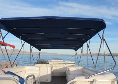 Big Blue 150hp Double Bimini
