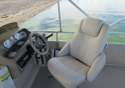 Premier Pontoon 90hp Captain Console